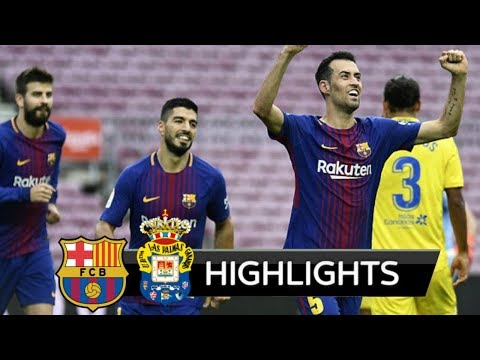 Barcelona vs Las Palmas 3-0 Highlight Download