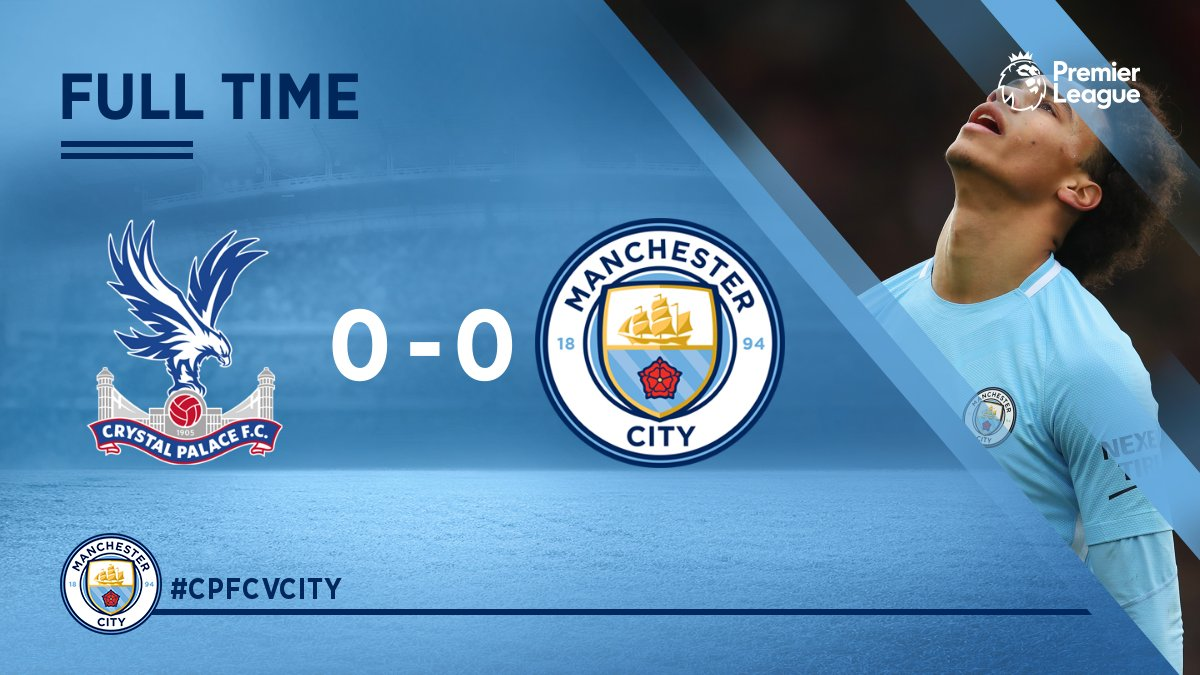 Crystal Palace vs Manchester City 0 - 0 – Highlights