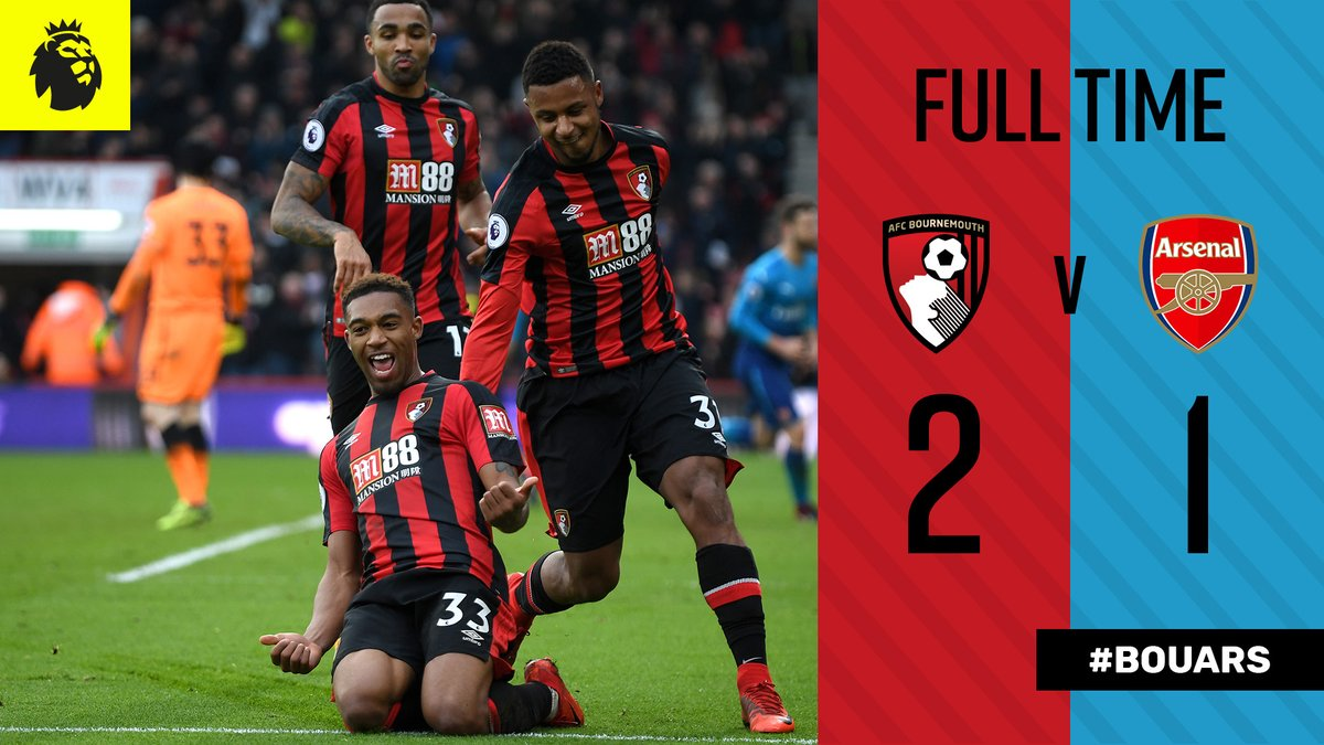 Bournemouth vs Arsenal 2 - 1 Highlights
