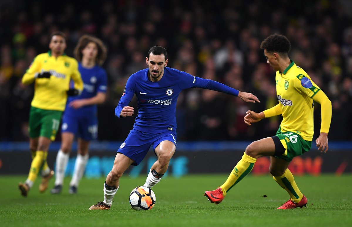 Chelsea vs Norwich City 1 - 1 Highlights