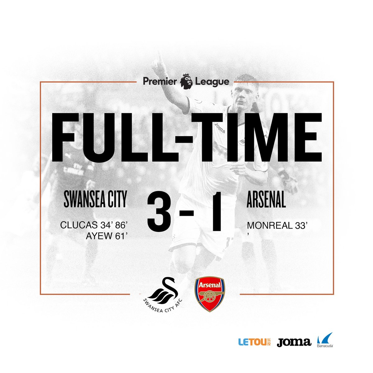 Swansea vs Arsenal 3-1 Highlight Download