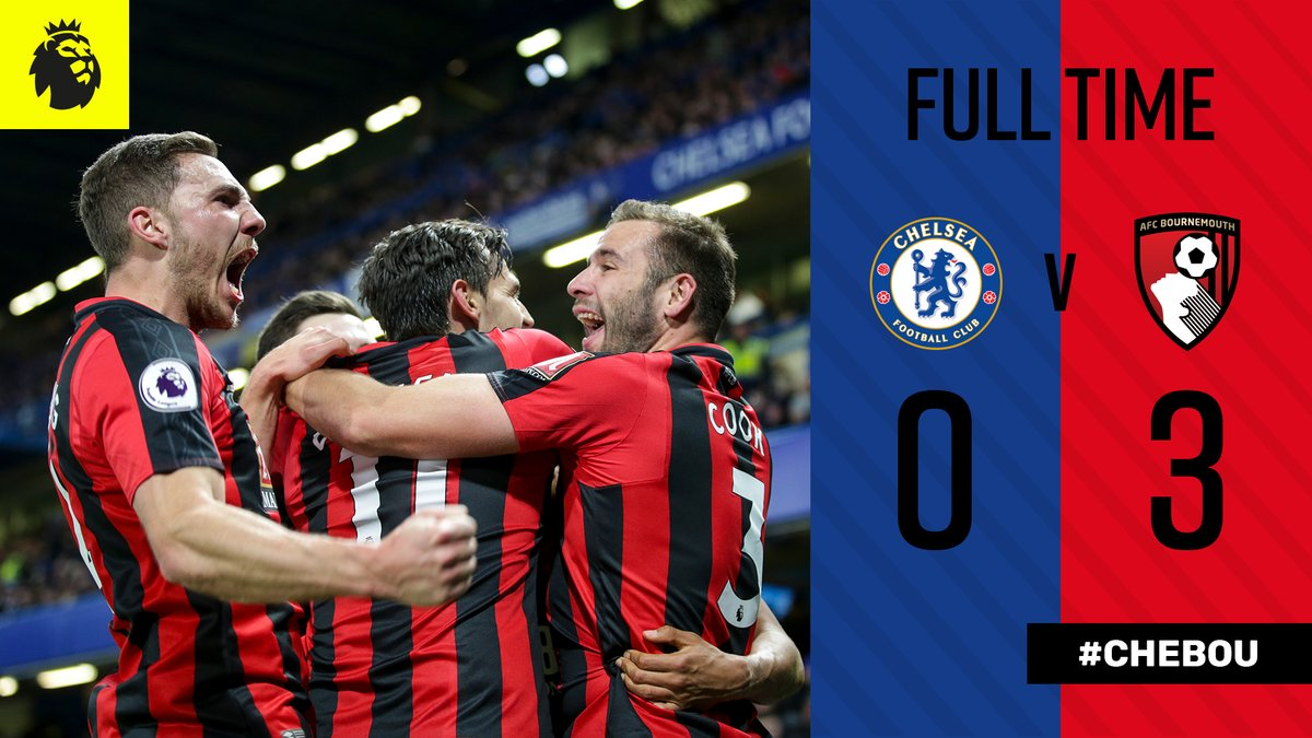 Chelsea vs Bournemouth 0-3 Highlight Download