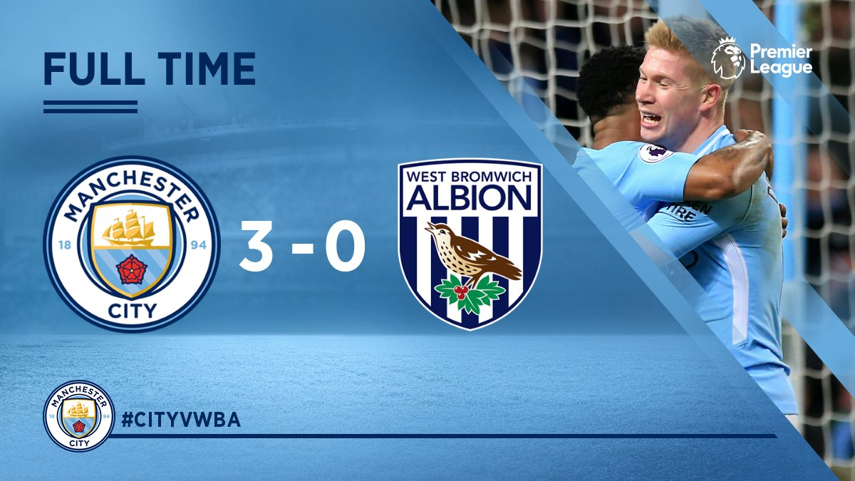 Manchester City vs West Brom 3-0 Highlight Download