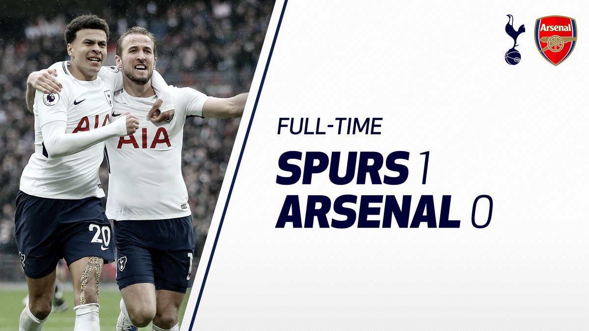 Tottenham vs Arsenal 1 - 0 Highlight Download