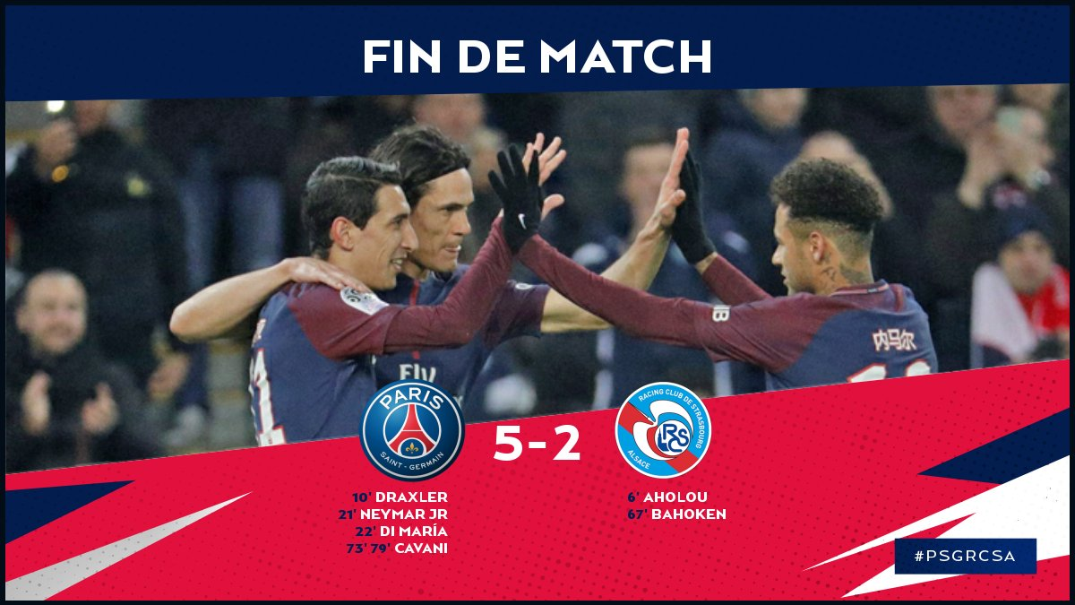 PSG vs Strasbourg 5-2 Highlight Download