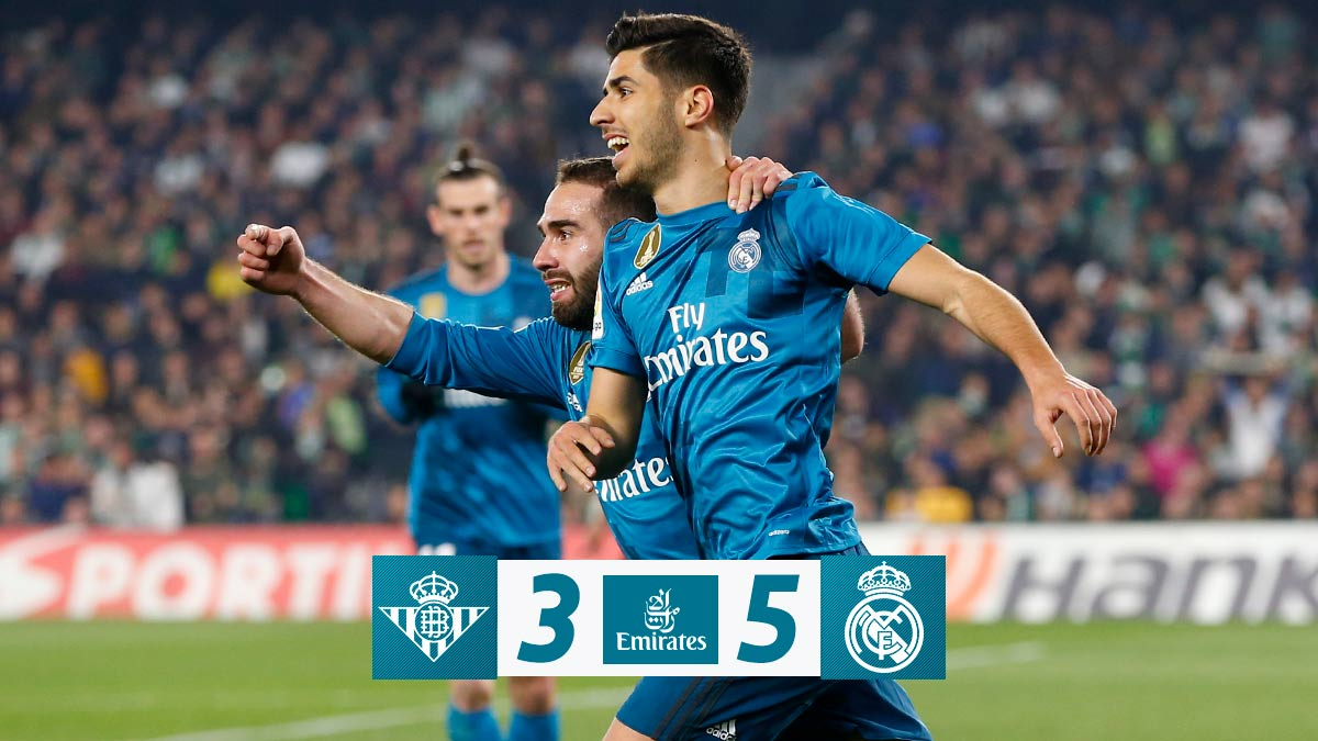Real Betis vs Real Madrid 3-5 Highlight Download
