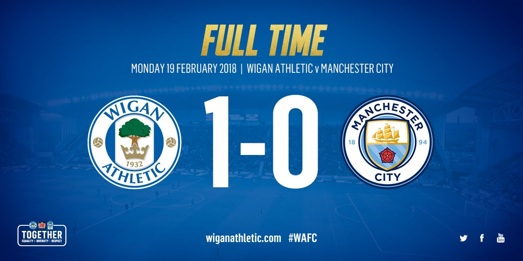 Wigan Athletic vs Manchester City 1-0 Highlight Download