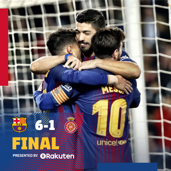 Barcelona vs Girona 6-1 Highlight Download