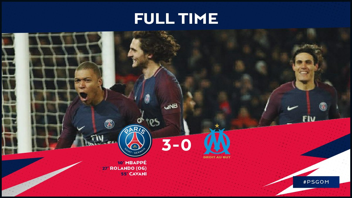 PSG vs Olympique Marseille 3-0 Highlight Download