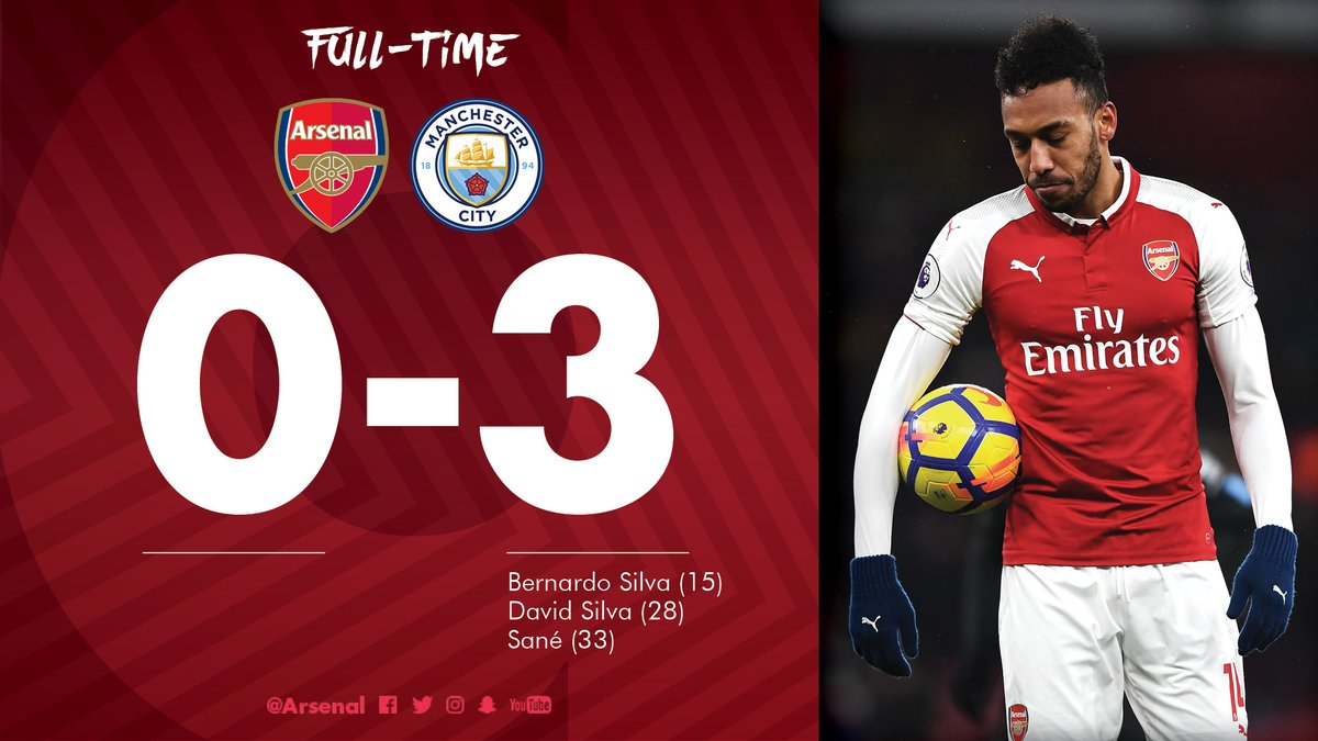 Arsenal vs Manchester City 0-3 Highlight Download