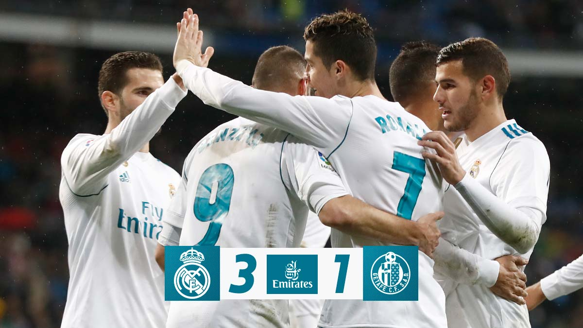 Real Madrid vs Getafe 3-1 Highlight Download