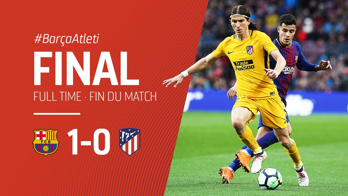 Barcelona vs Atletico Madrid 1-0 Highlight Download