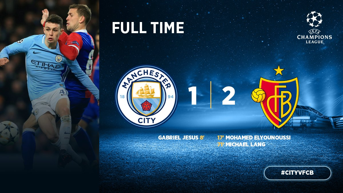 Manchester City vs Basel 1-2 Highlight Download