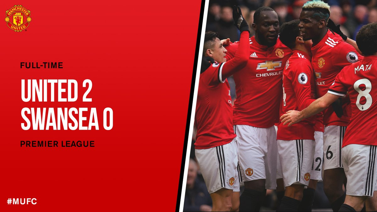 Manchester United vs Swansea 2 - 0 Highlight Download