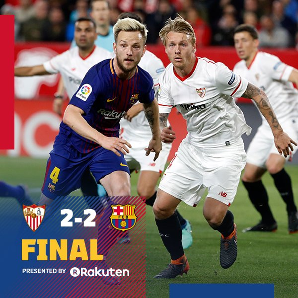 Sevilla vs Barcelona 2-2 Highlight Download
