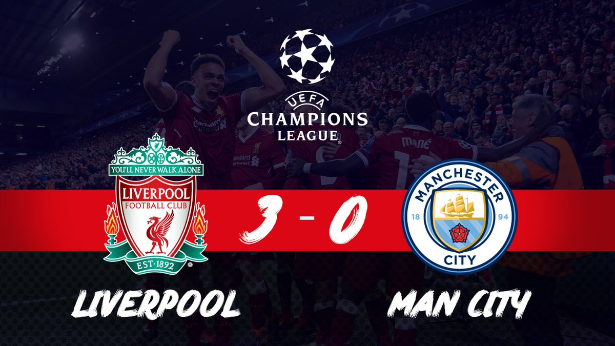 Liverpool vs Manchester City 3-0 Highlight Download