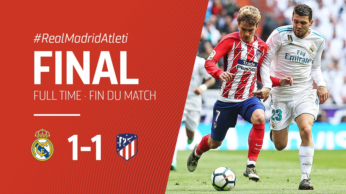 Real Madrid vs Atletico Madrid 1-1 Highlight Download