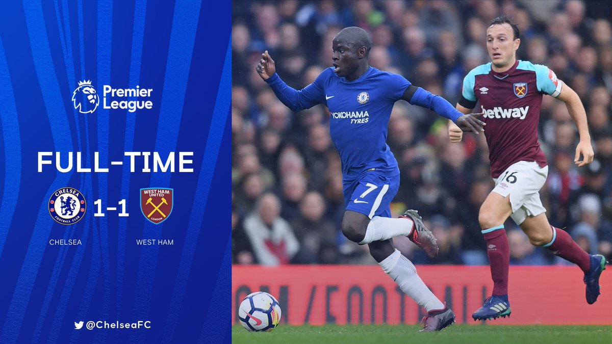 Chelsea vs West Ham 1-1 Highlight Download