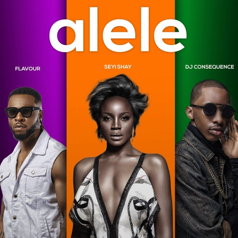 Seyi Shay Flavour Alele DJ Consequence
