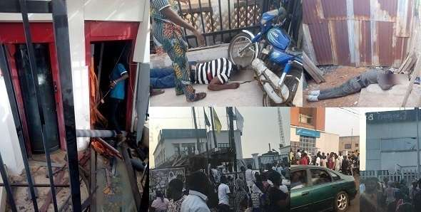 Many killed as armed robbers attack 5 banks in Offa Kwara State