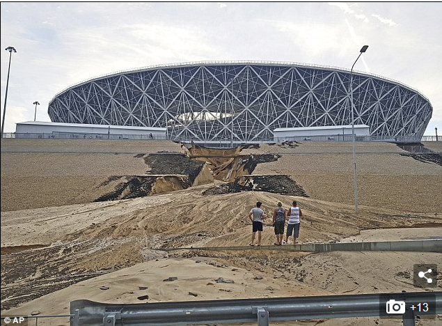 Two World Cup Stadiums In Russia Have Already Started To Collapse