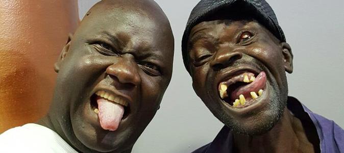 Ugly guys-na dem dey rush us