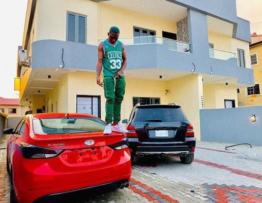 Zlatan Ibile buys himself two new cars and a house (Photo)