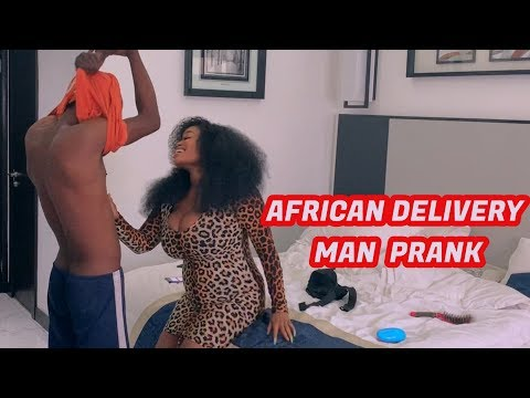 Zfancy AFRICAN DELIVERY MAN PRANK