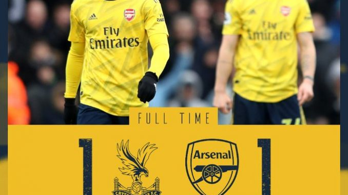 Crystal Palace vs Arsenal 1-1 Download