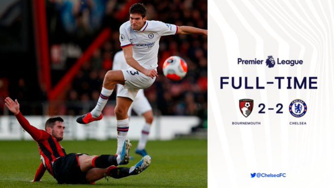 Bournemouth vs Chelsea 2-2 Download