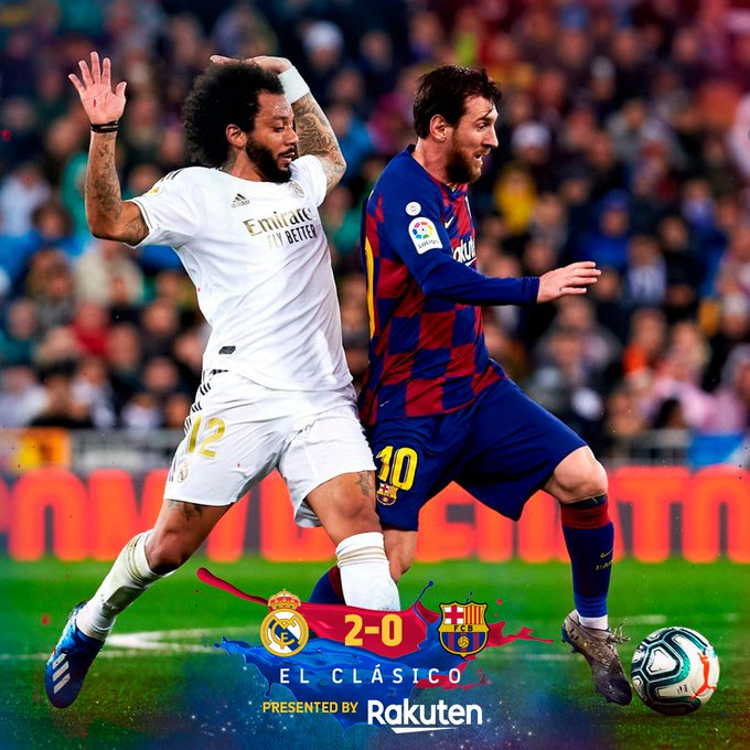 Real Madrid vs Barcelona 2-0 Download