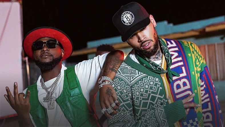 Davido Brings Out Chris Brown In Los Angeles During AGT Tour