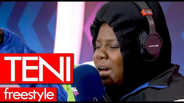 Teni Freestyle on Tim Westwood Crib Session Video