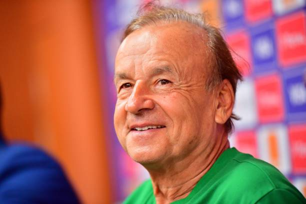 Gernot Rohr Super Eagles NFF